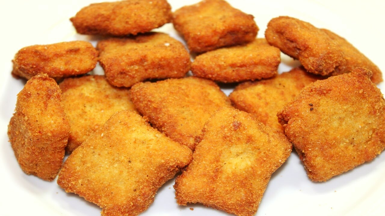 طريقة عمل ناجتس الدجاج بالبطاطس في الفرن
