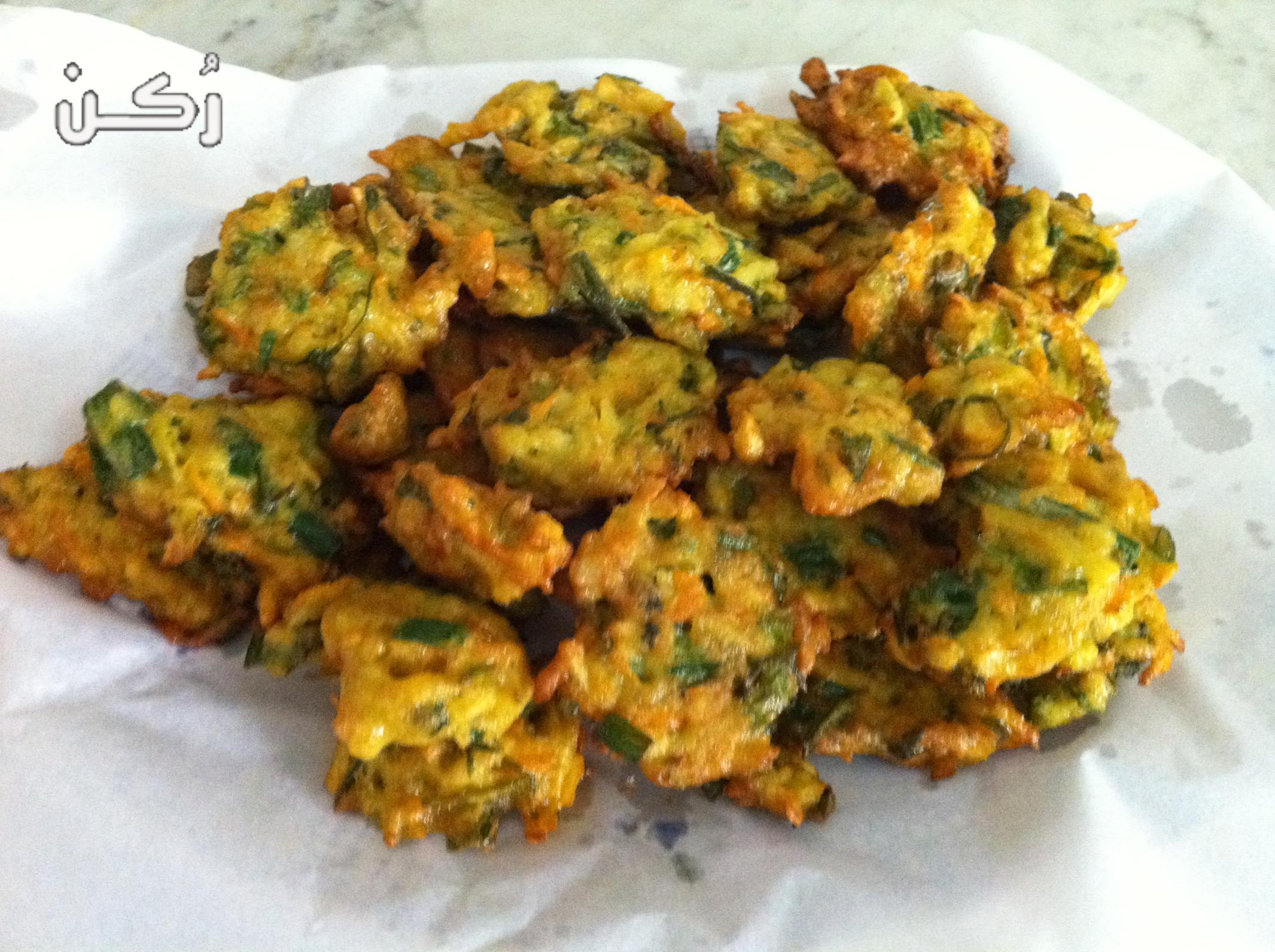 طريقة عمل الخضار المقلية الهندية مع كرات البطاطس