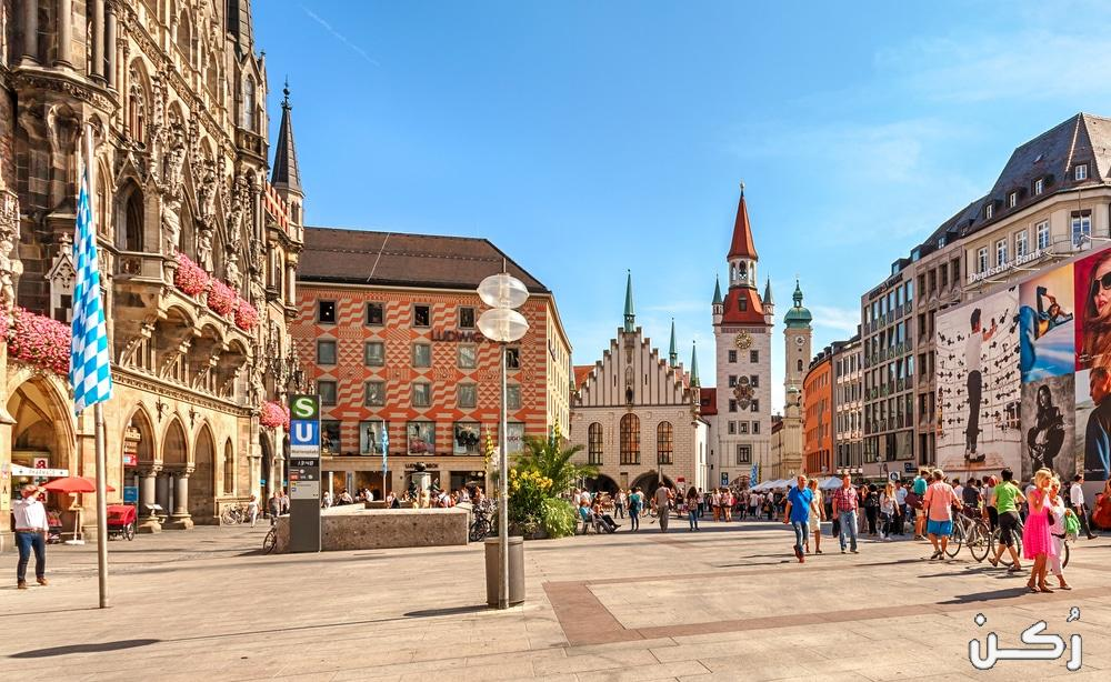افضل الأماكن السياحية في مدينة ميونخ الألمانية