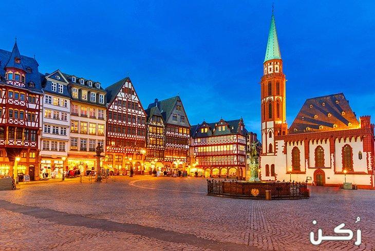 اهم واجمل الأماكن السياحية في فرانكفورت ألمانيا