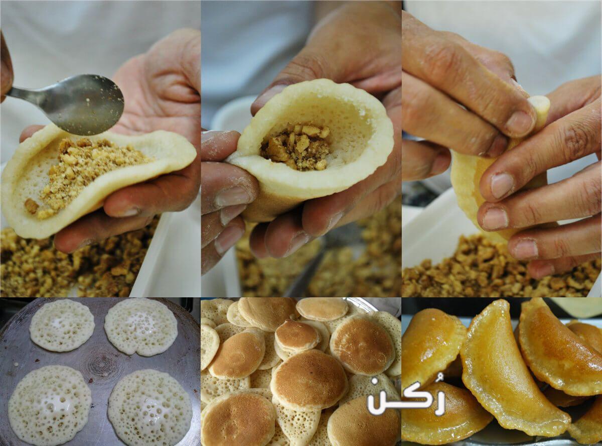 القطايف ألذ حلويات رمضان 2019