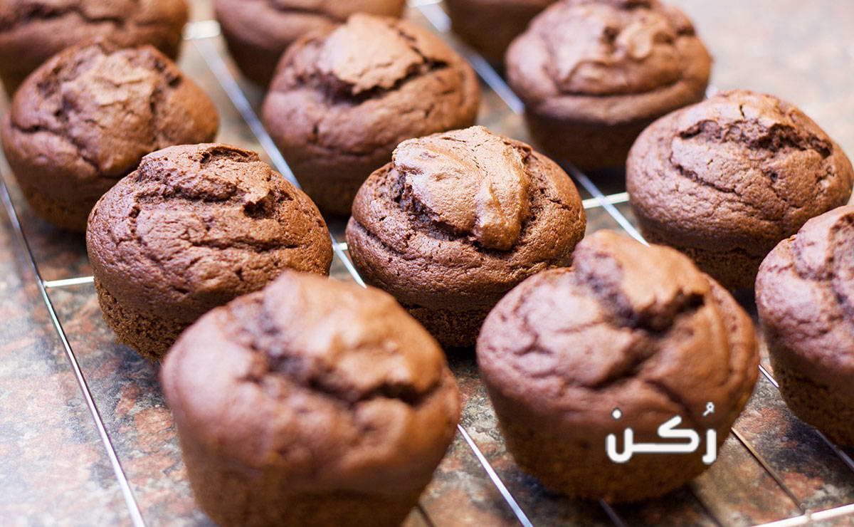 طريقة عمل كب كيك شوكولاتة سحور للأطفال