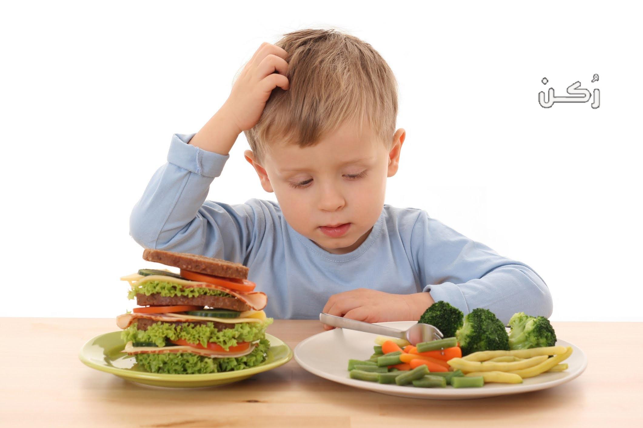 اضطرابات الطعام عند الأطفال وأنواعها واسباب الامتناع عن الأكل