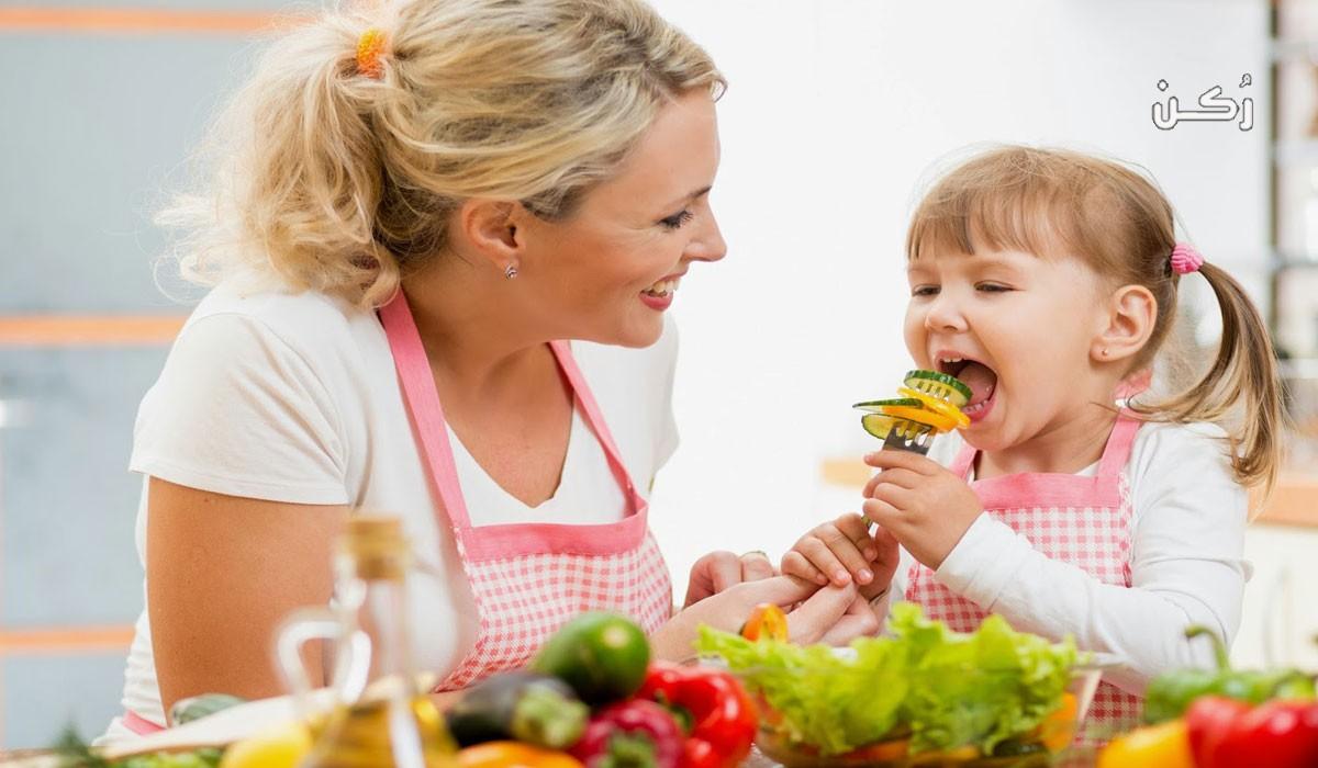 كيفية تشجيع الأطفال على الطعام الصحي بصورة سهلة