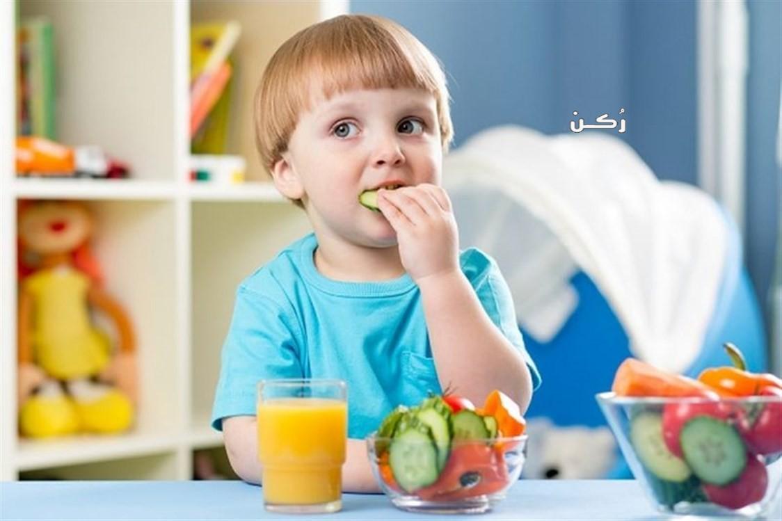 مجموعة أطعمة صحية مفيدة لنمو الطفل