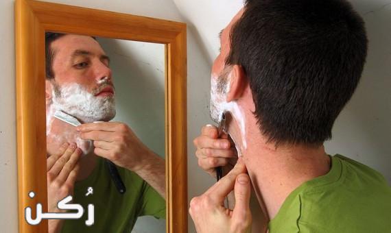 علاج التهابات ما بعد الحلاقة عند الرجال