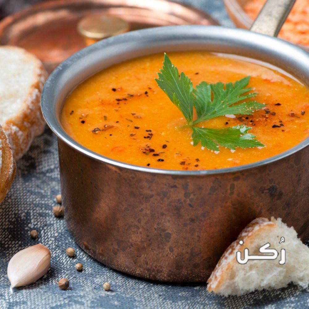 طريقة عمل حساء العدس بالطريقة الهندية