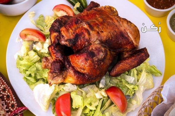 تفسير رؤية اكل الدجاج المشوي والنيء في المنام