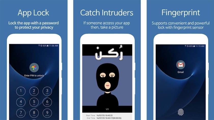 معلومات عن تطبيق القفل app lock الجديد 2019