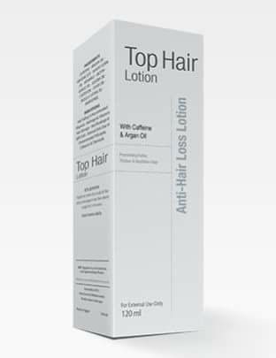توب هير لوسيون Top hair lotion لعلاج تساقط الشعر