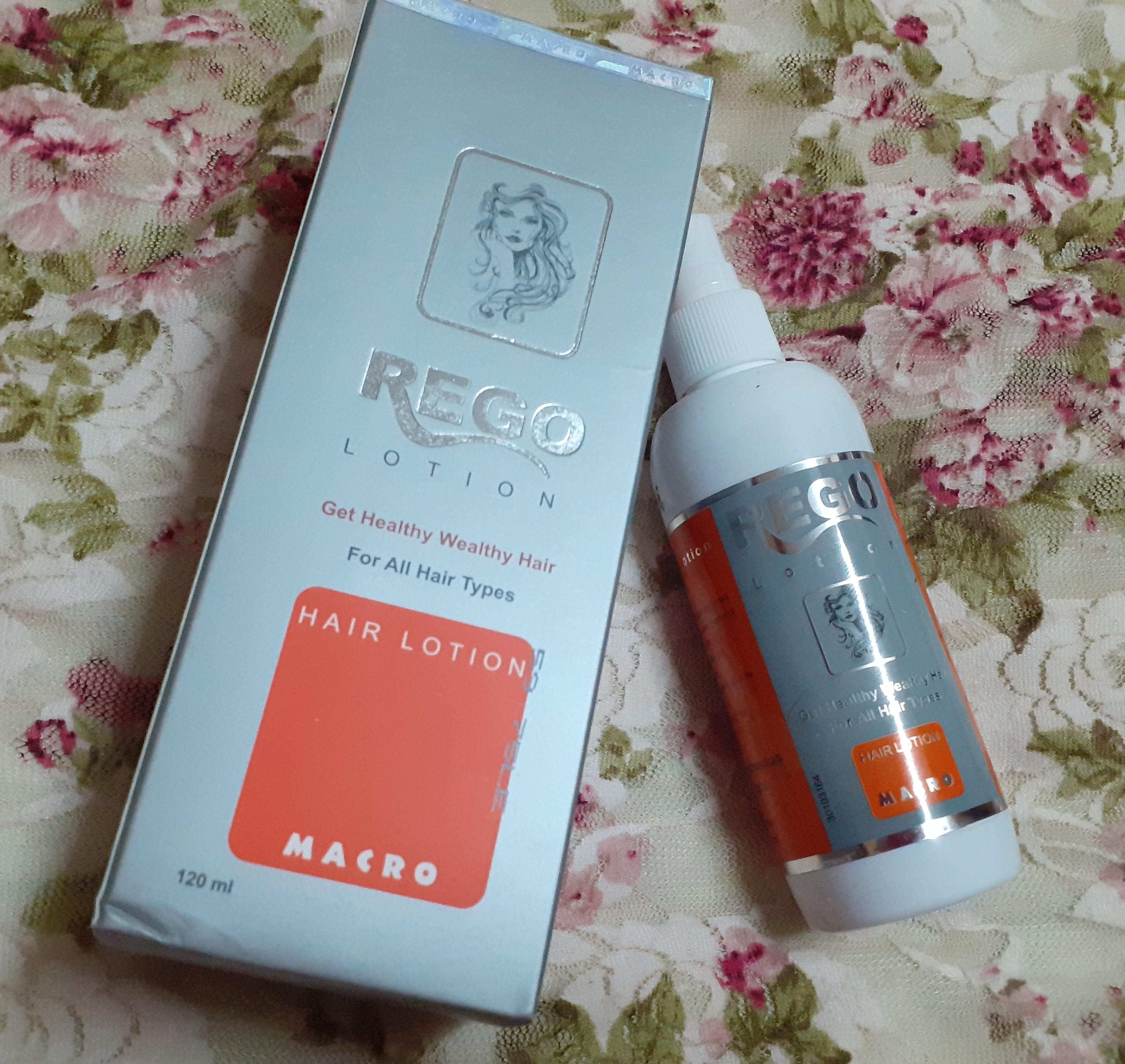 ريجو لوسيون Rego lotion لشعر انسيابي كالحرير