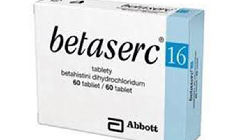 بيتاسيرك BetaSerc لعلاج الدوخة والدوار وفقدان التوازن