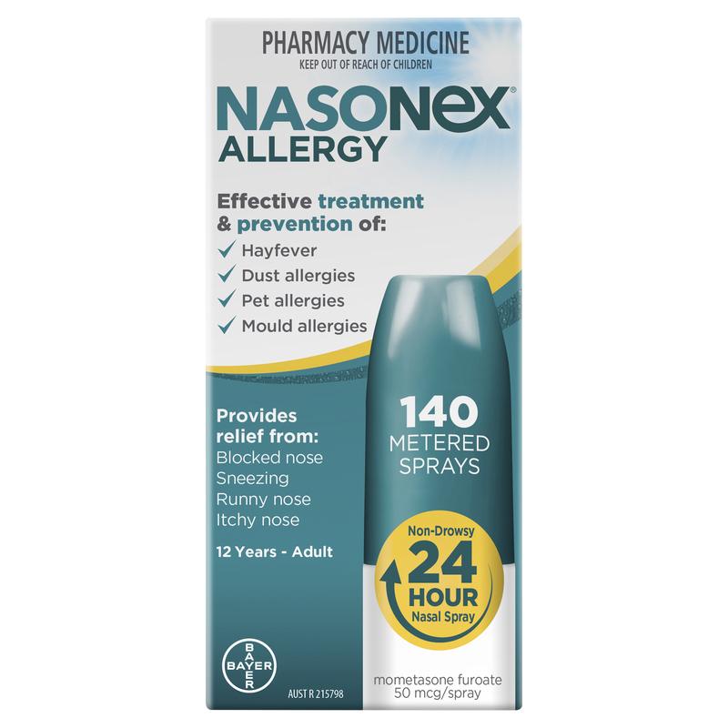 نازونكس بخاخ الأنف nasonex لعلاج الالتهابات الأنفية والحساسية