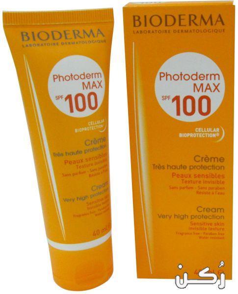 كريم بيوديرما فوتوديرم Bioderma Photoderm واقي الشمس موقع ر كن