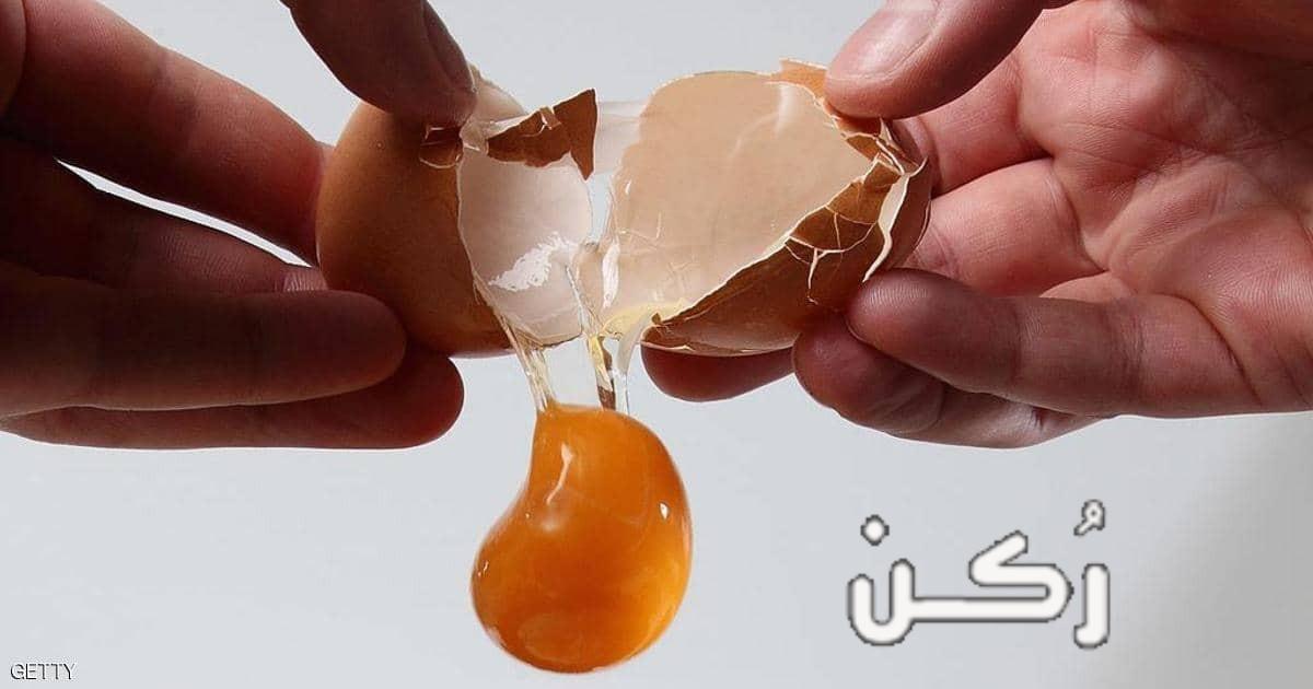 السعرات الحرارية في البيض المسلوق والمقلي بالصفار وبدونه