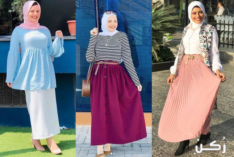 موضة ملابس صيف 2020 للمحجبات للخروج روعه بألوان مبهجه