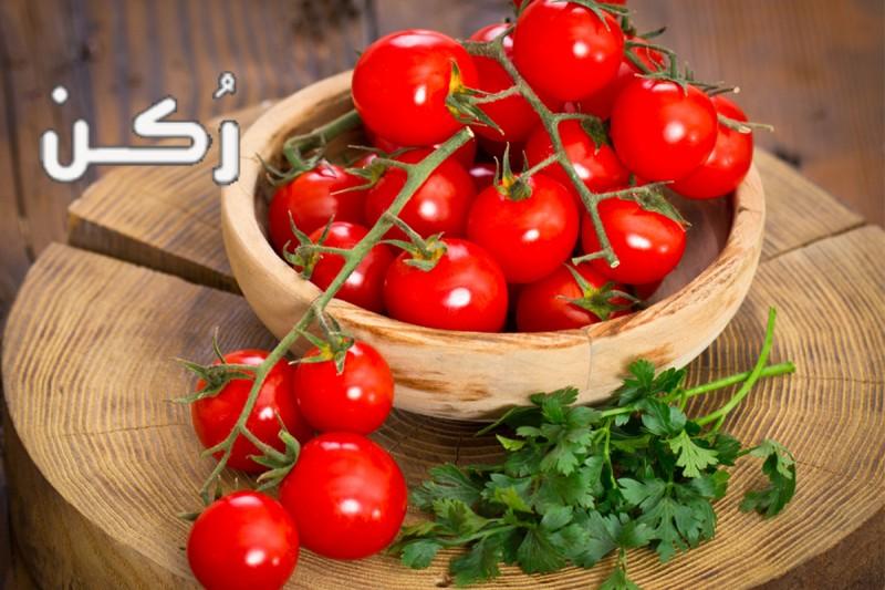 السعرات الحرارية في الطماطم الطازجة والمطبوخة و الطماطم المعلبة