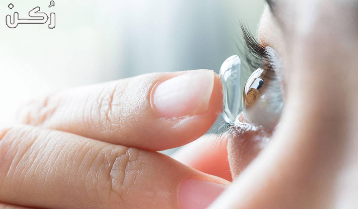 علاج التهاب العين من العدسات – أنوع التهاب العين من العدسات