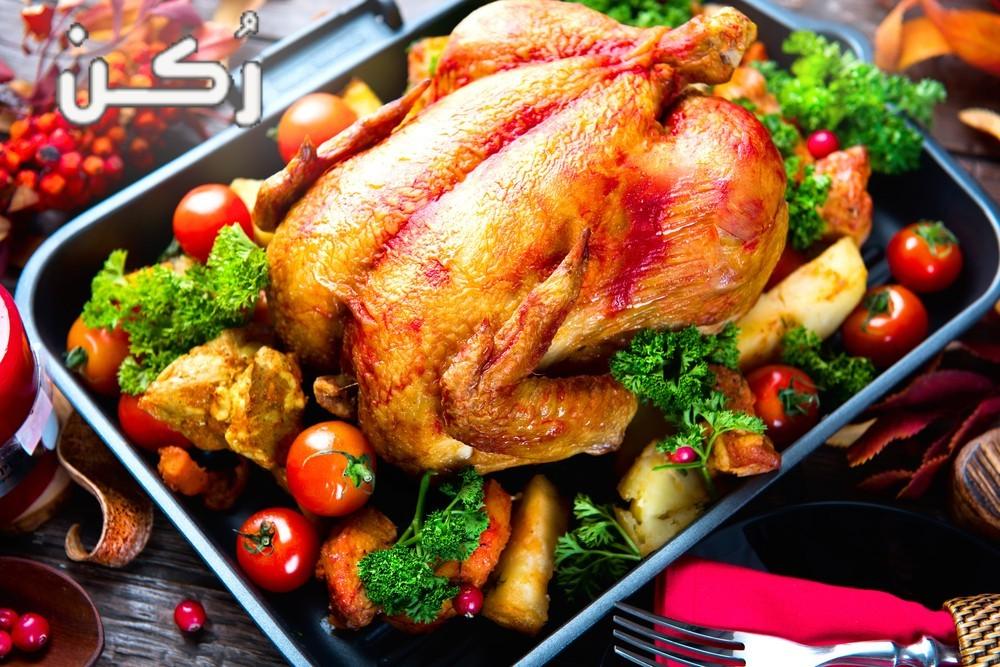 السعرات الحرارية في الدجاج المشوي على الفحم والدجاج المشوي في الفرن