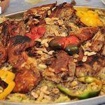 طريقة تحضير المفتول الفلسطيني باللحم والدجاج على طريقة الست غالية