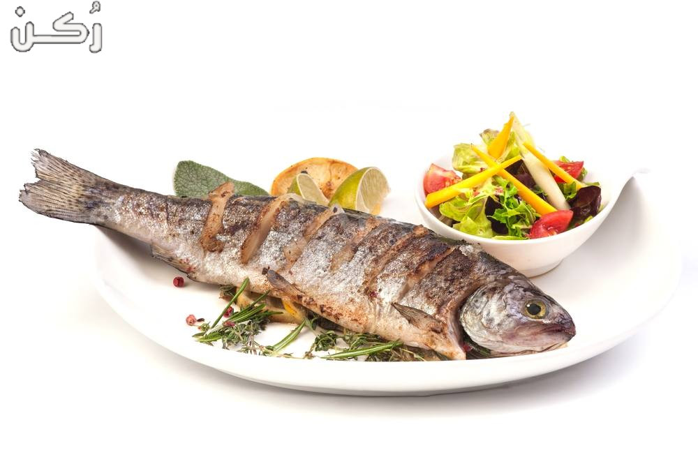 تحضير السمك البوري