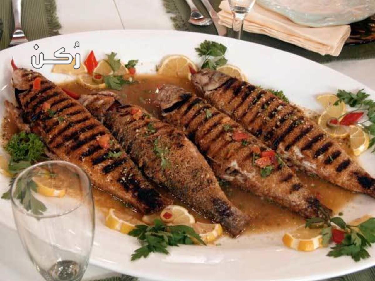 طريقة تحضير و عمل السمك البوري المقلي والمشوي