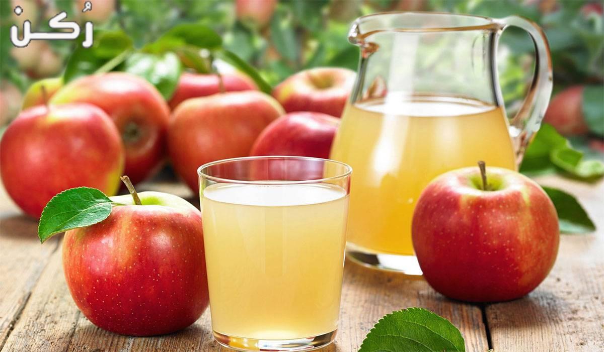 فوائد عصير التفاح للرجيم والحامل والبشرة والجنس