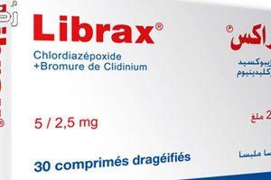 ليبراكس Librax لعلاج القولون الاستعمال والتحذيرات والاعراض الجانبية