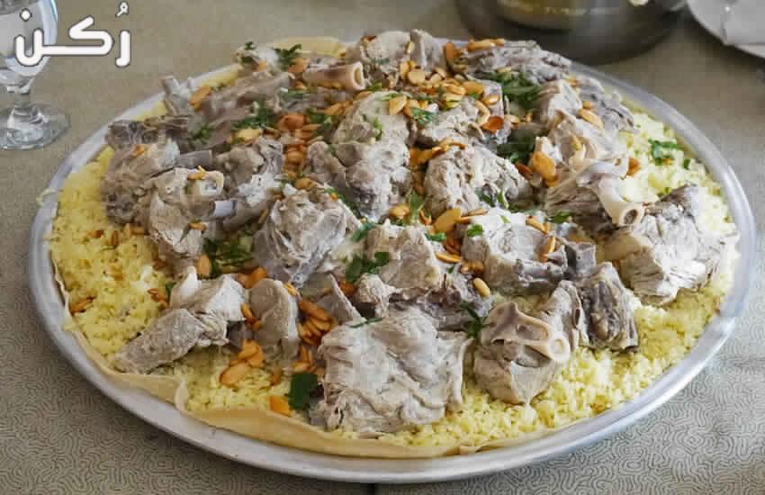 طريقة عمل المنسف باللحم على الطريقة الأردنية
