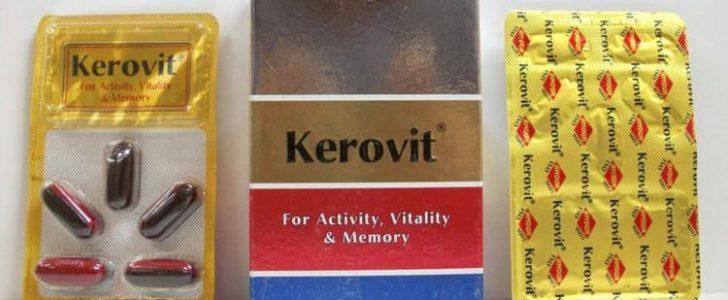 كيروفيت كبسولات Kerovit مكمل غذائي لعلاج الإرهاق والتعب