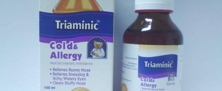 دواء تريامينك Triaminic علاج البرد والسعال
