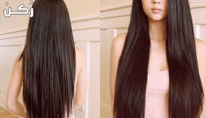 تطويل الشعر بالأعشاب