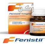 دواء فنستيل Fenistil لعلاج الحساسية عند الأطفال