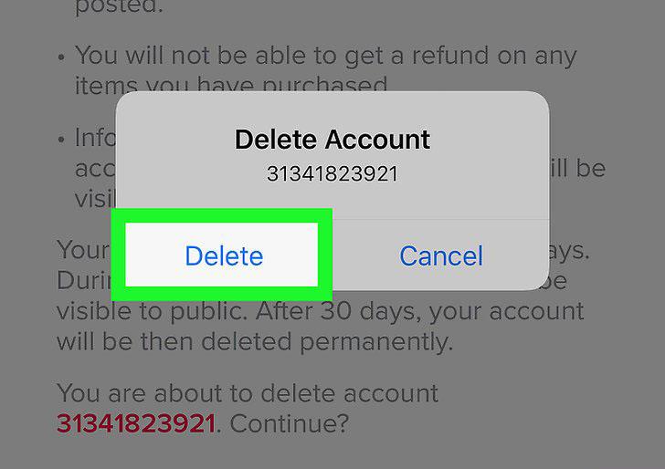 حذف تطبيق توك توك