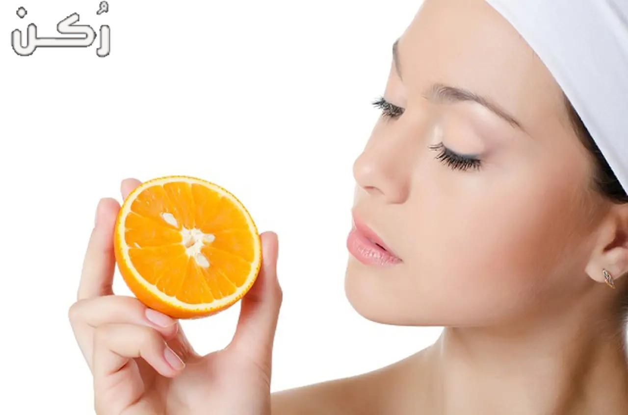 خلطات تبييض الوجه بالبرتقال مجربة سهلة وآمنة