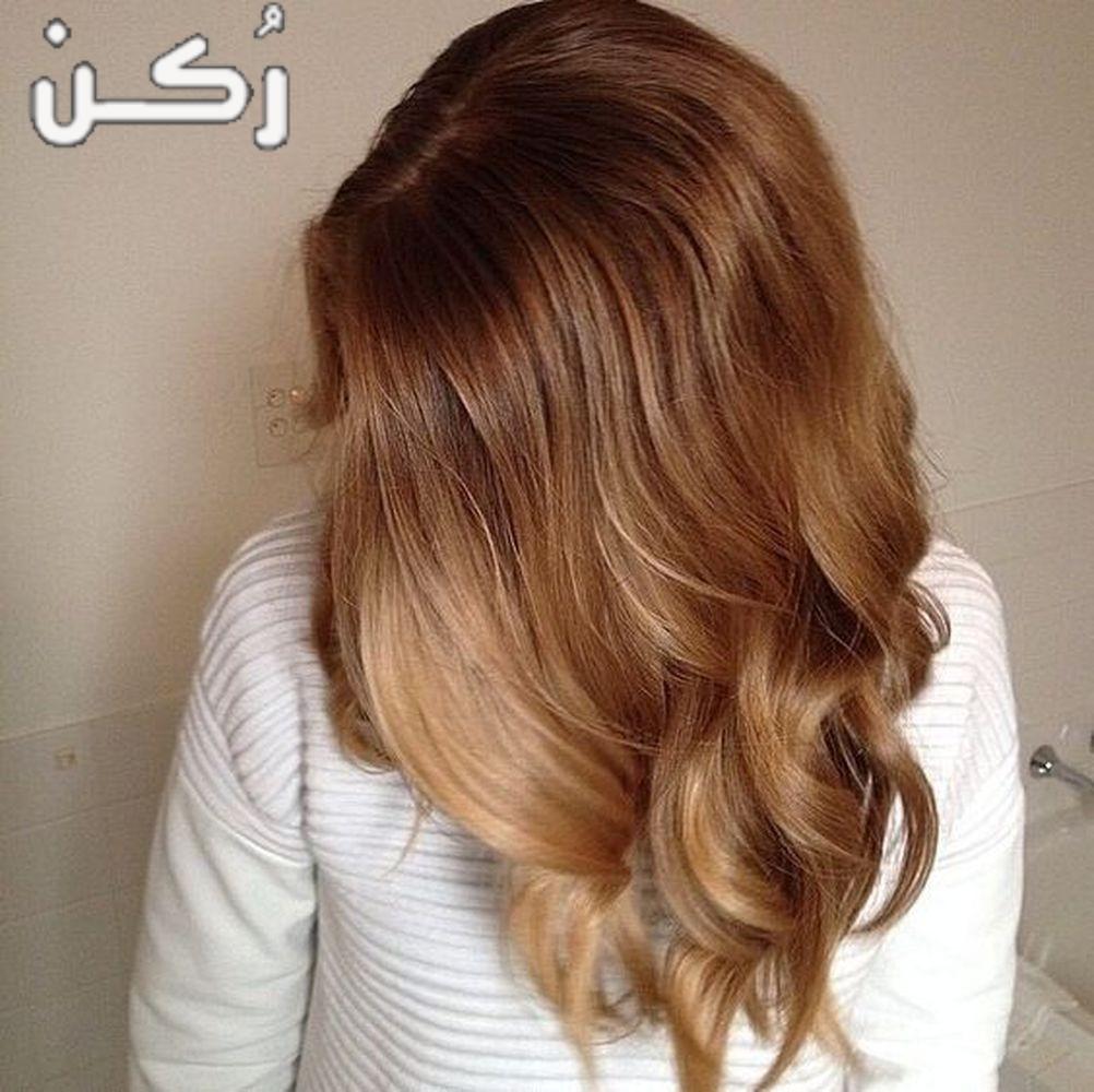 طريقة صبغ الشعر بني فاتح يناسب جميع الوان البشرة