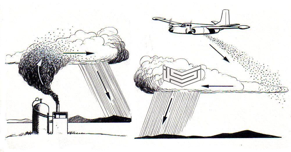 معلومات عن الاستمطار الصناعي في السعودية وطرقه