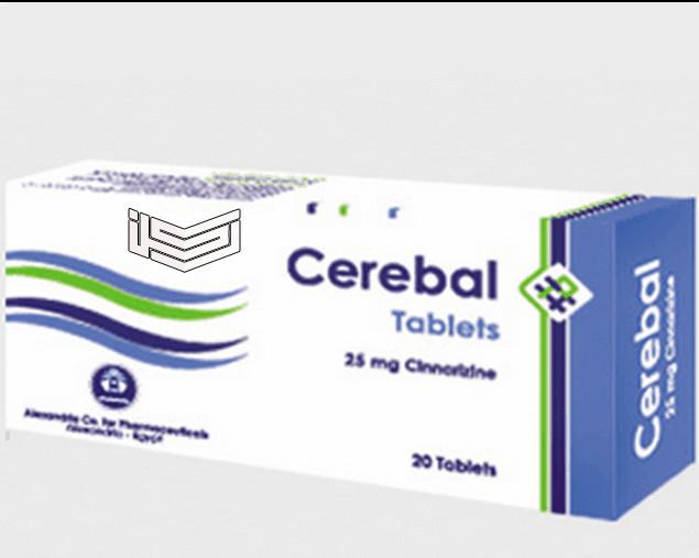 سيريبال Cersbal علاج قصور الدورة الدموية