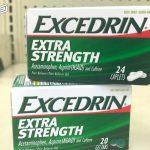 نشرة أقراص إكسدرين EXCEDRIN علاج الصداع والم الأسنان