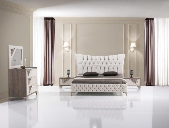 غرف نوم تركية بتصاميم عصرية