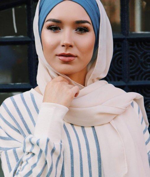 لفات حجاب بدون دبابيس