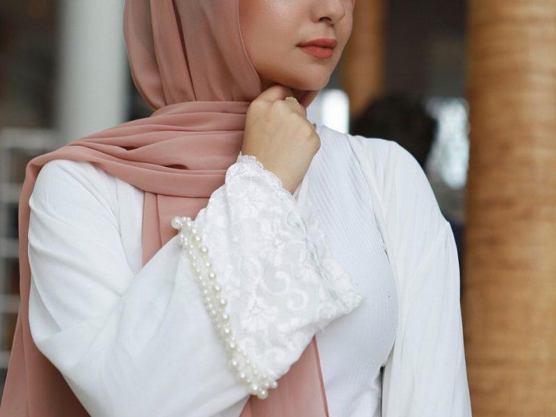 طرق تطبيق لفات حجاب بدون دبابيس بالصور