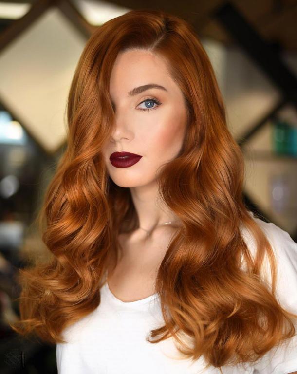ألوان صبغات شعر لعيد الفطر