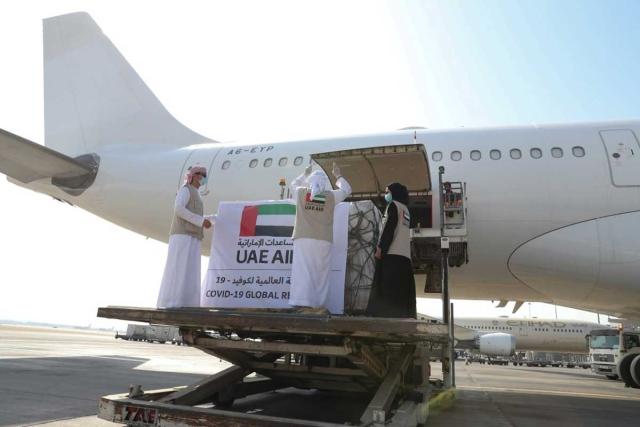 الإمارات ترسل مساعدات طبية إلى الصومال لدعمها في مكافحة كورونا