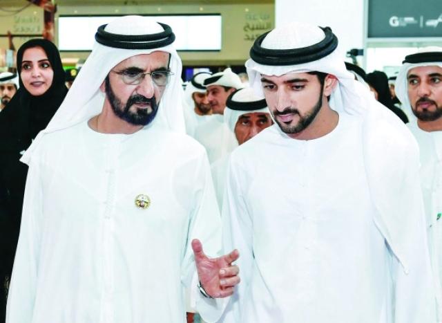 الشيخ حمدان بن محمد بن راشد يحتفي بيوم الأب العالمي