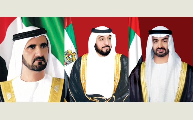 الشيخ خليفة ومحمد بن راشد ومحمد بن زايد يهنّئون رئيسي سلوفينيا وموزمبيق