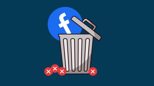 طريقة حذف حسابك على فيسبوك نهائيًا او إلغاء التنشيط