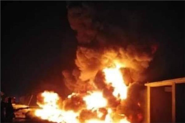 تفاصيل حريق إحدى المساكن في محافظة الإفلاج منطقة الأحمر