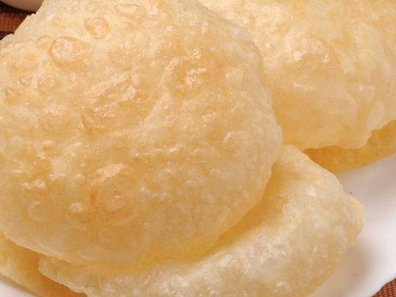 طريقة عمل خبز البوري الهندي بالخطوات والمكونات