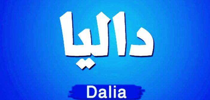 معنى اسم داليا وسمات حاملة الاسم وحكمه